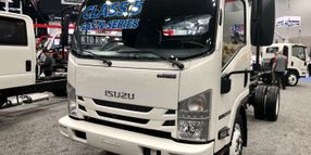 Isuzu Adds Two Class 5 Gasoline Cabovers