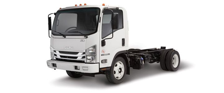 The 2019 Isuzu NPR is a Class 4 low cab forward truck. - Photo: Isuzu
