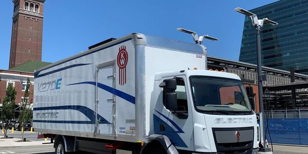 The Kenworth battery-electric vehicles offer two direct-drive motors rated at 355 hp and 469 hp,...