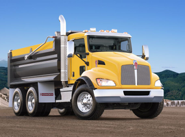 Kenworth's TruckTech+ Remote Diagnostics are now available on medium-duty models, including the T370.