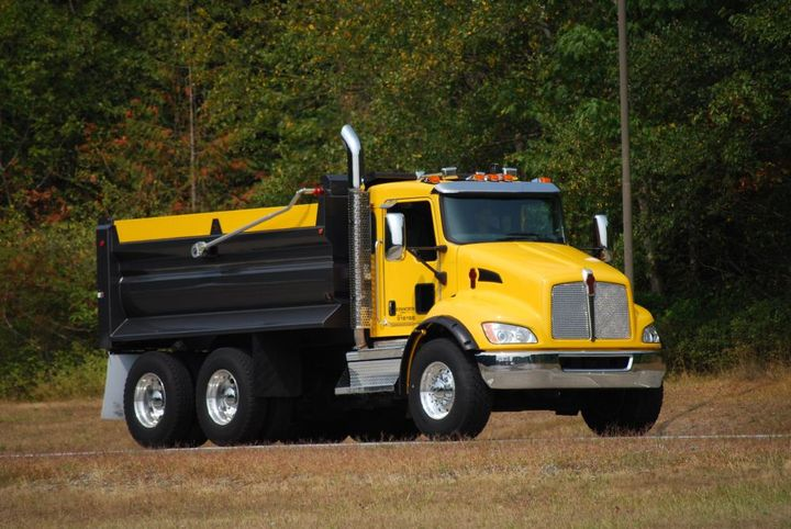 A Kenworth T370 with an end dump configuration will be on display.  - Photo courtesy of Kenworth