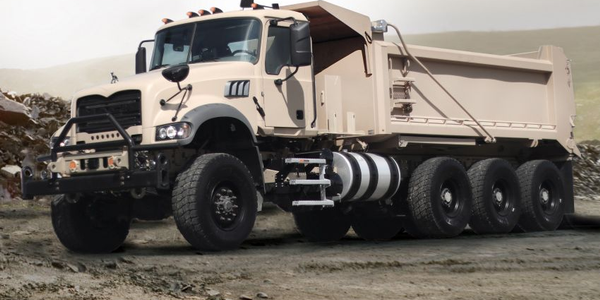 Based on the civilian Mack Granite model, Mack Defense optimized the M917A3 HDT to meet the...