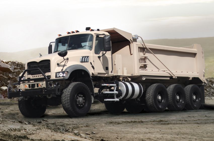 Based on the civilian Mack Granite model, Mack Defense optimized the M917A3 HDT to meet the current needs of the U.S. Army, while allowing for evolving requirements and future growth.