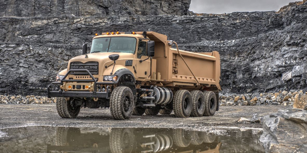 Mack Defense is partnering with Crysteel Manufacturing on the U.S. Army M917A3 Heavy Dump Truck...