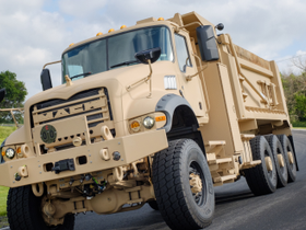 Mack Defense Partners with Truck-Lite on U.S. Army Heavy Dump Truck Contract