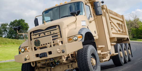 Mack Defense is partnering with Truck-Lite Co., LLC to provide lighting systems for the M917A3...