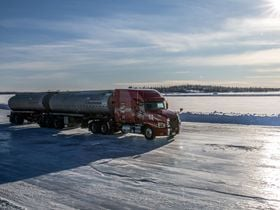 Mack Helps Transport Fleet Stay Cool on Ice Roads