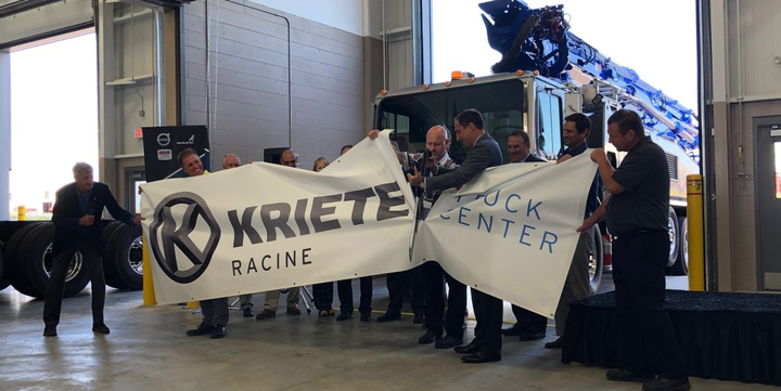 The Mack Certified Uptime Dealer location will also add a mezzanine in October to double its parts warehouse capacity.  - Photo: Mack Trucks
