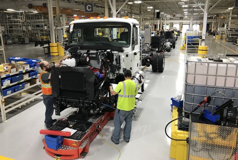 Mack MD Series Preps for Full Production