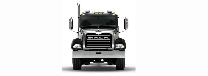 Mack Trucks will display two Mack Granite models and one Mack Granite MHD model in their boothat The Work Truck Show 2019.  - Photo courtesy of Mack Trucks
