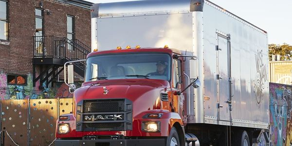 The Mack MD6, a Class 6 model, has a 25,995-pound GVWR, and the MD7 is a Class 7 model with a...
