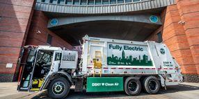 First Mack LR Electric Serves N.Y. Sanitation Department