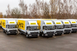 Hertz Adds 542 Mercedes-Benz Atego Trucks to Fleet