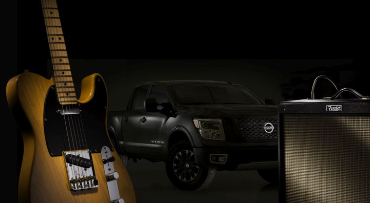The 2019 Titan will be the first Nissan vehicle and the only truck in its class to feature the Fender Premium Audio System.