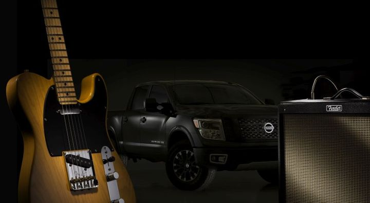 The 2019 Titan will be the first Nissan vehicle and the only truck in its class to feature the FenderPremium Audio System.  - Photo courtesy of Nissan