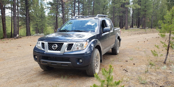 The 2019 Nissan Frontier Pro 4x4 also offers enhanced off-road capabilities.