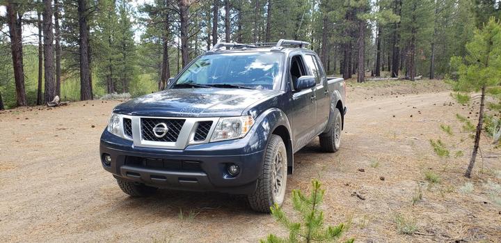 The 2019 Nissan Frontier Pro 4x4 also offers enhanced off-road capabilities.  - Photo: Lauren Fletcher