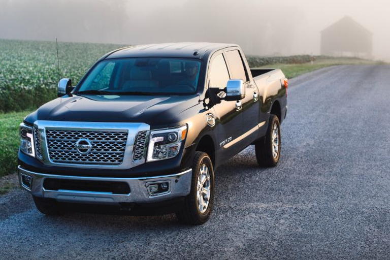 For 2019, every Titan 1/2-ton is powered by a 390-hp 5.6L Endurance V-8 gasoline engine mated to...