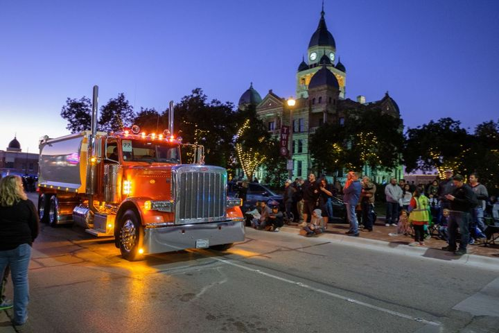 The annual Pride and Class Parade invites owners of 50 custom Peterbilt trucks from around the United States and Canada to showcase their customized Peterbilt trucks.