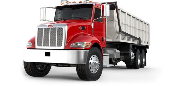 Peterbilt's Model 348 medium-duty truck is one of the vehicle's potentially impacted by the...