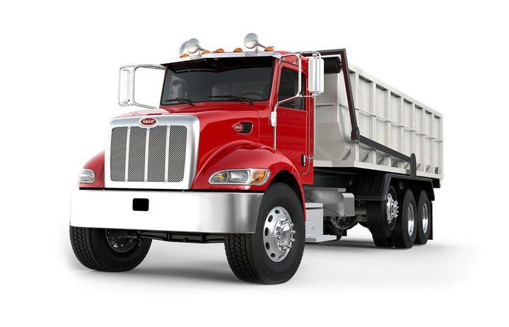 The 2019-MY Peterbilt 348 was among the trucks recalled. - Photo: Peterbilt