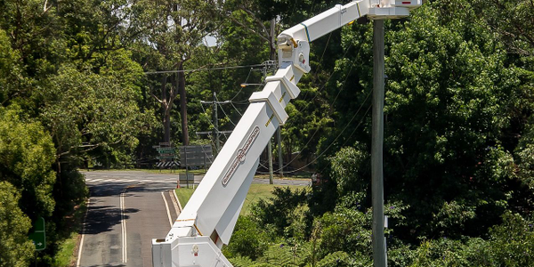 Bucket trucks are used to accomplish many jobs, and utilities often keep a lot of equipment...