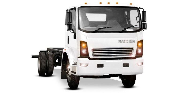 Rainier's medium-duty cab-over-engine (COE) truck. - Photo: Rainier