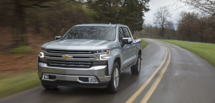 The 2019 Silverado LTZ comes standard with an updated 5.3L V-8 paired with an eight-speed automatic transmission. 