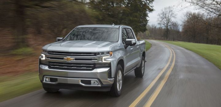New trucks to market, such as the Chevrolet SIlverado 1500, are helping increase new-vehicle average transaction prices. 