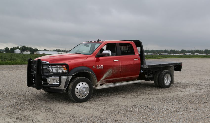 The 2018 Ram Harvest Edition Chassis Cab (5500 pictured) were designed specifically for the agriculture industry. 