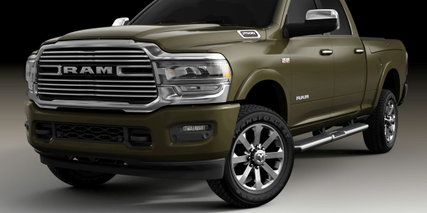 The 2020 Ram 1500 will be available in three new exterior colors, including Olive Green (late...