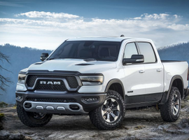 Ram prices were up nearly 7%, thanks to its new 1/2-ton pickup truck.