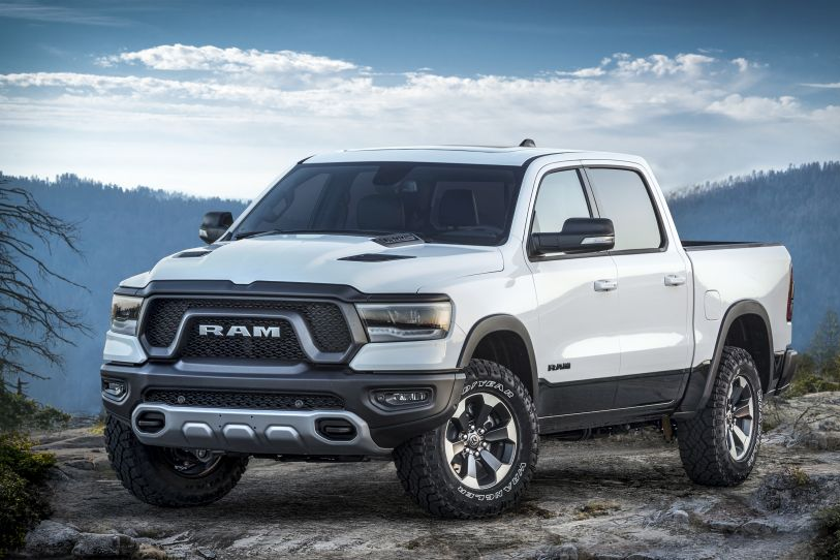 The 2019-MY Ram 1500 is among the vehicles recalled for potential visibility issues.