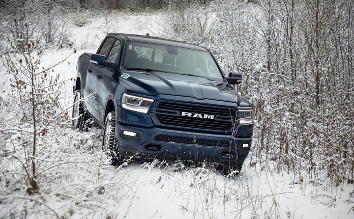 The 2020-MY Ram 1500 (pictured) was among the truck models recalled for floormat issues.  - Photo: FCA US LLC