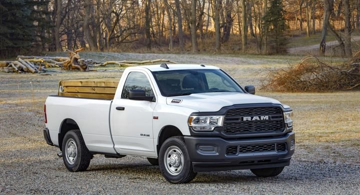 The 2020 Ram Heavy Duty offers a towing capacity of 35,100 pounds and a payload capacity of 7,680 pounds.  - Photo: Ram Truck