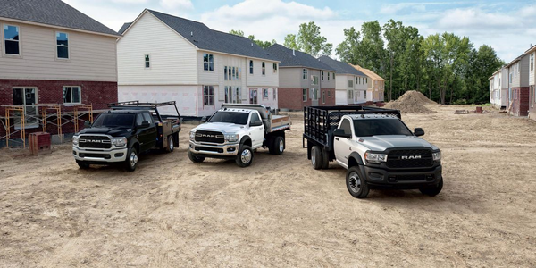 Ram's Chassis Cab lineup is ideal for vocational fleet applications.
