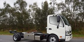 All-Electric Hino Cabovers Heading to California