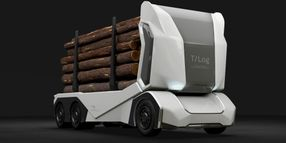 All-Electric, Driverless Logging Truck Revealed
