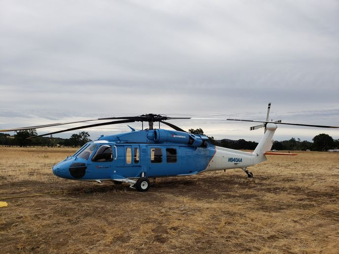 The new helicopters will allow PG&E to reach remote portions of its service area more easily.