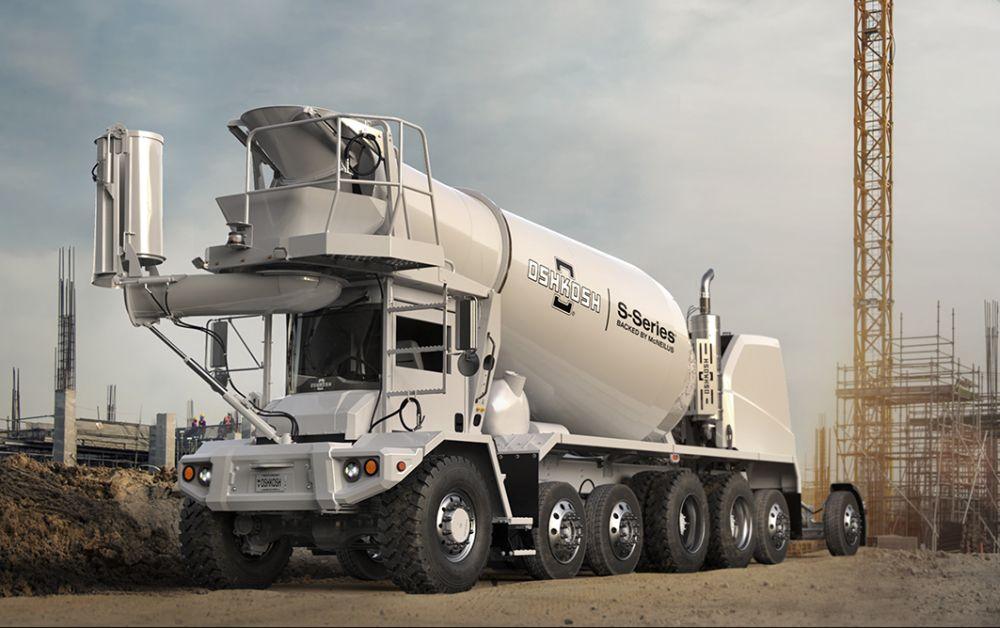 Oshkosh S-Series Concrete Mixer Updated & Improved