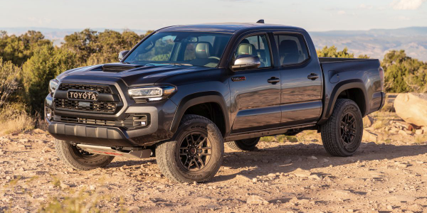 The Toyota Tacoma took home ALG's midsize pickup truck award.
