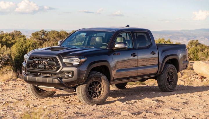 The Toyota Tacoma took home ALG's midsize pickup truck award. - Photo: Toyota