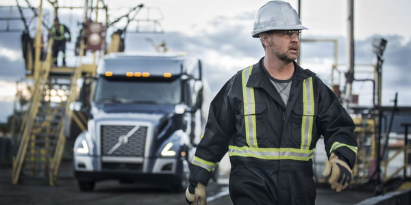 No matter the distance, no matter the load, you get the job done, safely and on time. Volvo...