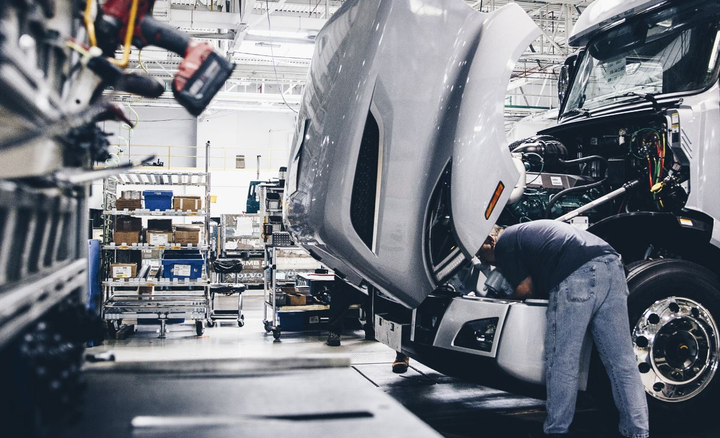Volvo Group North America's performance reflects efforts at eight manufacturing facilities in the U.S.
