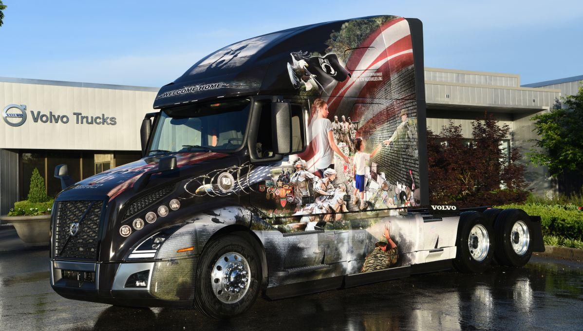 Volvo Trucks Honors Military Heroes for Memorial Day