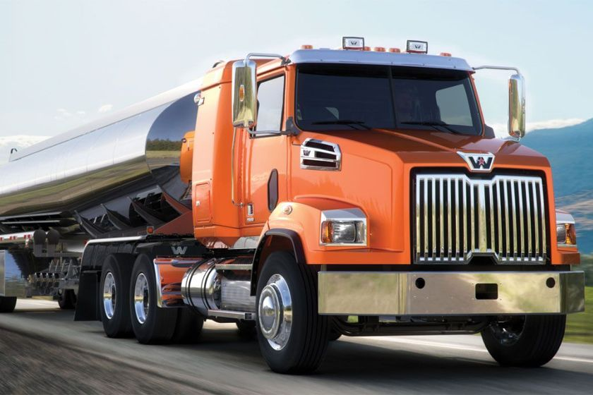 The Western Star 4700 set-back, all-wheel drive 6x6 and 4x4 trucks can be spec'ed with an...