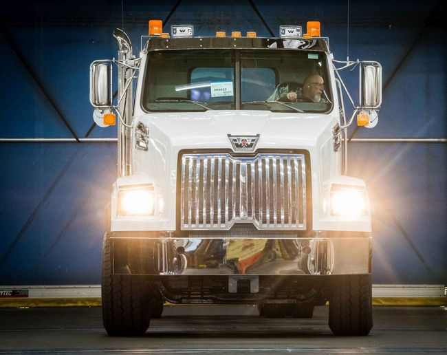 The 200,000th Western Star rolls off the line at Portland Truck Manufacturing on March 5, 2020. - Photo: Western Star