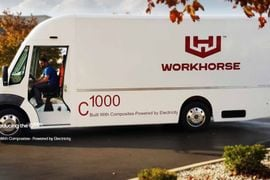 Workhorse Officially Names Electric Delivery Truck the C1000