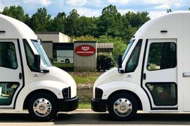 Ryder Offers Workhorse All-Electric C-Series Step Van