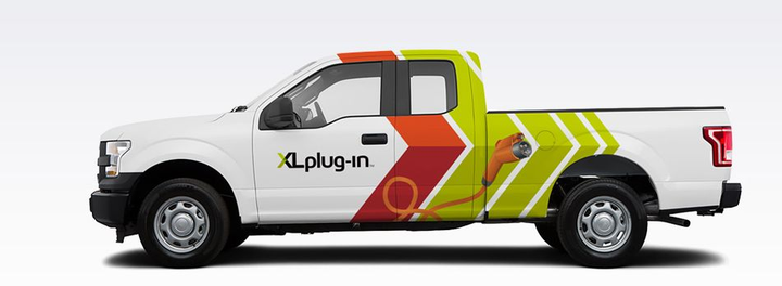 XL offers the fleet-readyXLHhybrid electric drive system and the XLPplug-in hybrid electric drive system for Class 2 through Class 6 commercial and municipal customers.  - Photo courtesy of XL